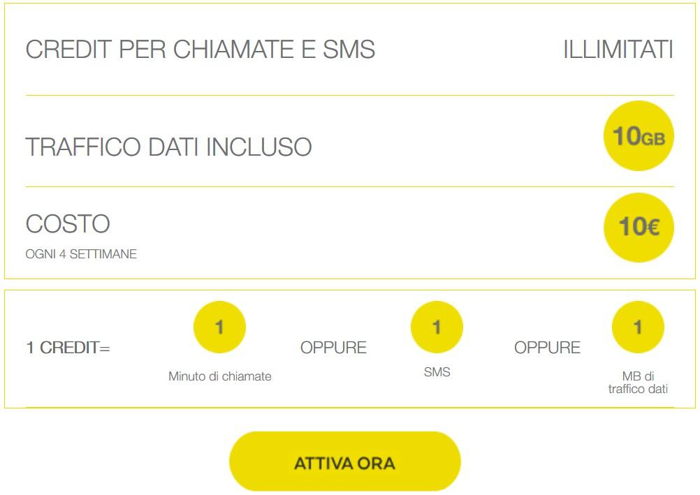 Postemobile Mobile 10 GB a soli 9 euro per i nuovi clienti