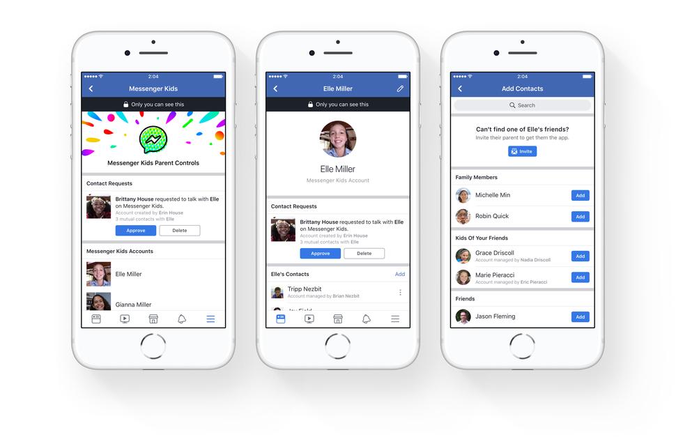 Messanger Kids, la chat Facebook per bambini: si accede dall'iPhone dei genitori