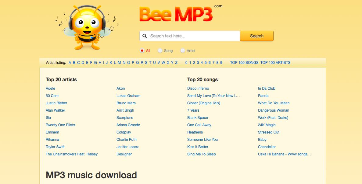 scaricare musica mp3 su pc