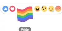 Facebook, Pride Reaction: come attivare la bandiera arcobaleno e cosa significa