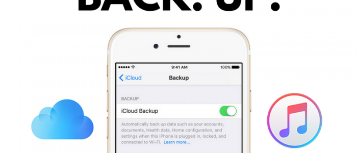 Come si fa il backup dell'iPhone?