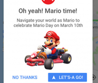 Come attivare Super Mario in Google Maps