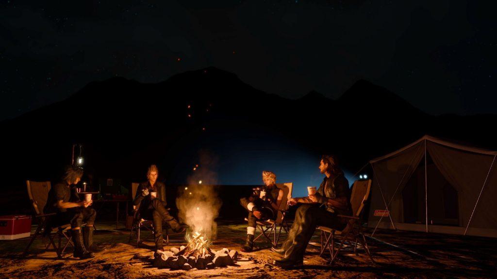 final fantasy-xv-campsite