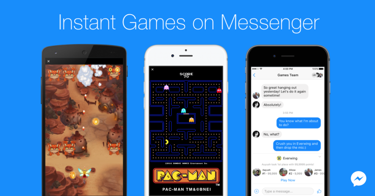 Facebook Messenger: si può giocare a Pac-Man