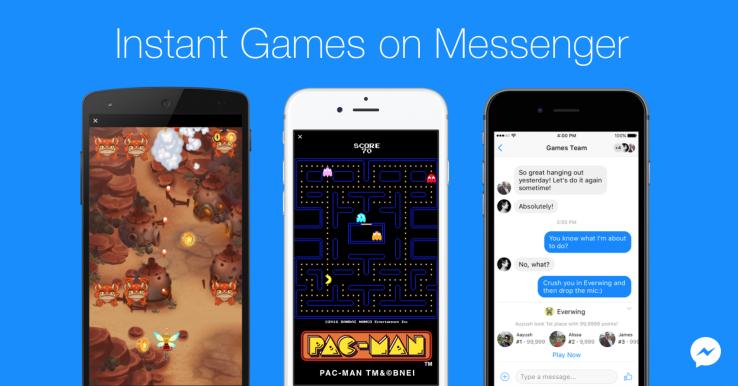 Facebook, giochi sbarcano su Messenger
