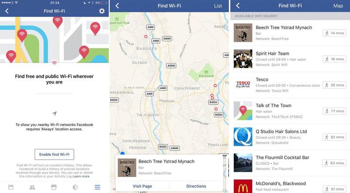 Facebook Wifi Spot