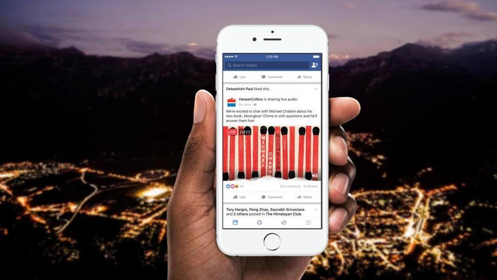 Facebook, Live Audio presto in arrivo sul social network di Zuckerberg