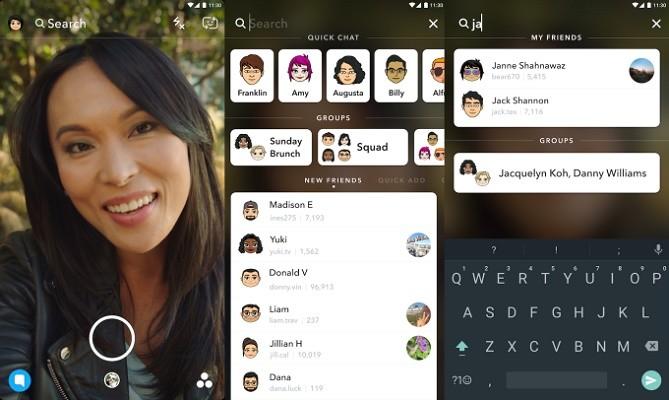 Snapchat lancia la ricerca